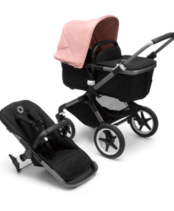 Bugaboo Fox 3 carrycot and pushchair - Morning Pink
