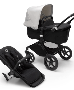 Bugaboo Fox 3 carrycot and pushchair seat - Misty White
