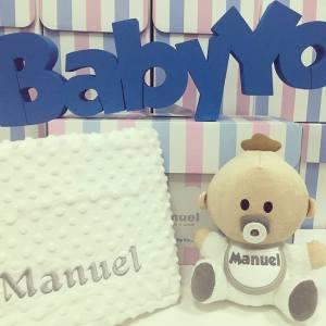Pack Babyyo · Manta Topitos White