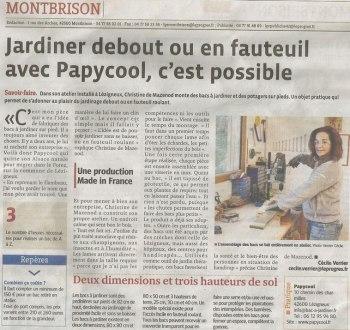 article de presse papycool
