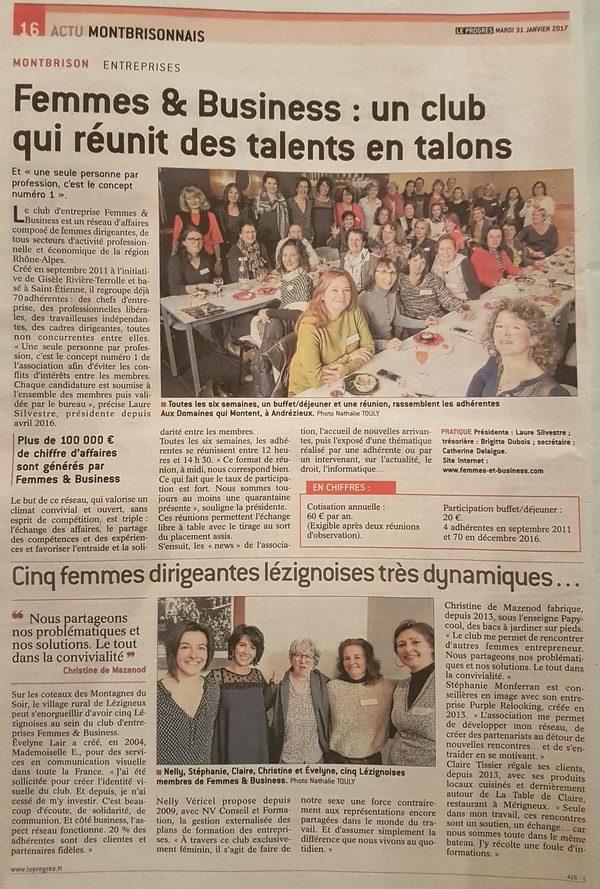 article de presse femmes et business papycool