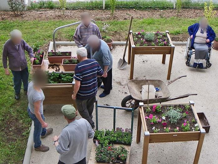 Atelier jardinage fleurs et aromatiques