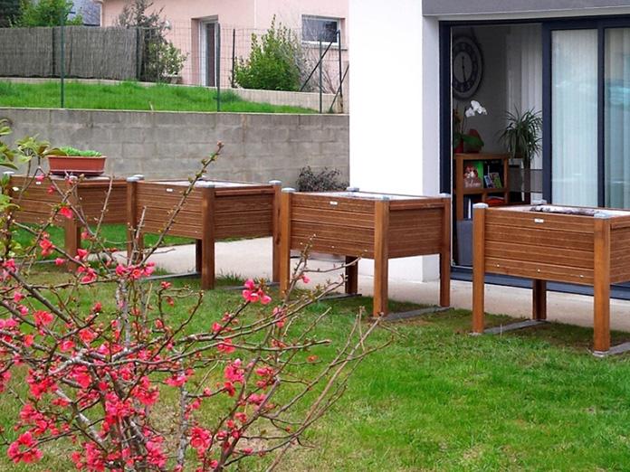 Installation de Bacs à plantes en Bretagne