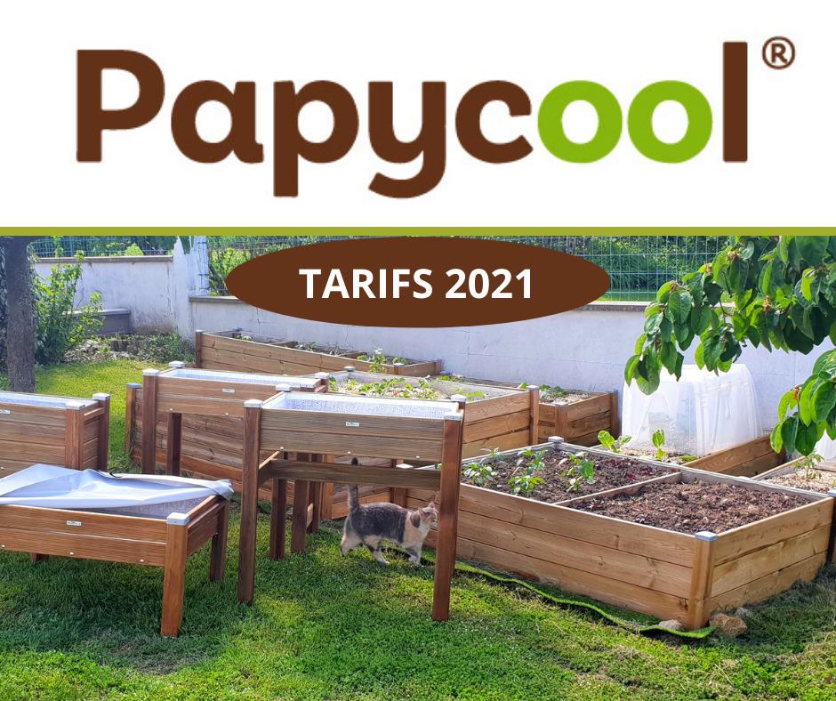 Tarif Papycool 2021