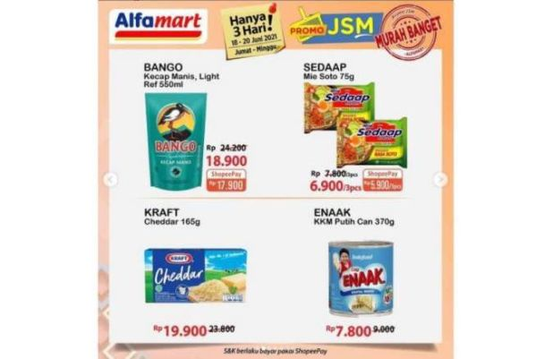 Promo Alfamart JSM terbaru