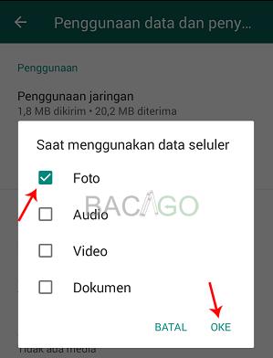 cara agar foto whatsapp tersimpan otomatis di galeri