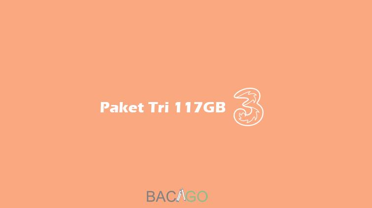 cara daftar paket tri 117 gb