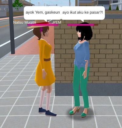 gambar tutorial cara mengganti bahasa di sakura school simulator indonesia