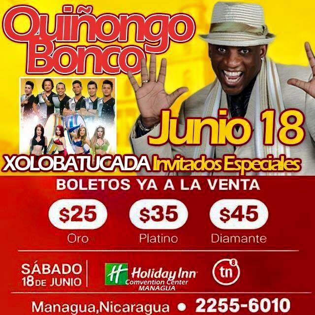 Quiñongo Bonco en Nicaragua