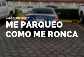 """""""Ando en Mercedes y me parqueo donde me ronca"""" se vuelve viral"""