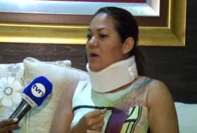En Panamá, el embajador de Nicaragua le pegó a una señora. Vos sabes, porque es nica