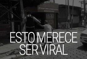 Estas fotos del Policía merecen ser virales, Nicaragua de vos depende!