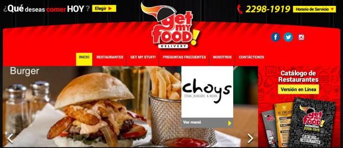 Inicio _ Servicio a Domicilio en Nicaragua _ Get My Food - Google Chrome-v8600