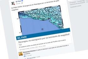 Y el peor comentario contra Nicaragua por el terremoto va para