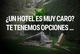 ¿Un Hotel es muy caro? No te preocupes, aquí salvamos a los palmados