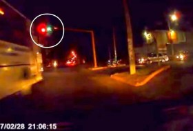 ¿Estaba en verde o en rojo el semáforo que se voló la Ruta 164?