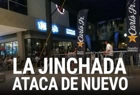 Carl's JR de Nicaragua esta poseído por la Jinchada