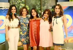Votá por tu presentadora favorita de Canal 2 en 2017 (Cristiana, Maritza, Michelle o Xiomara)