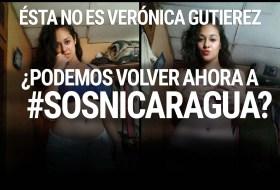 """Querida """"Reserva Moral"""", esa no es Verónica Gutierrez. Mejor volvamos a #SOSNicaragua"""
