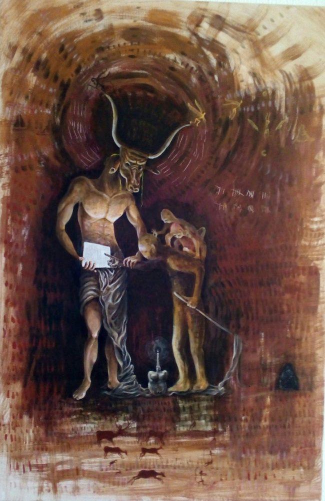painting 2 Bacco Artolini Berlin 2017