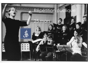 Répétition publique Bach Collegium Paris