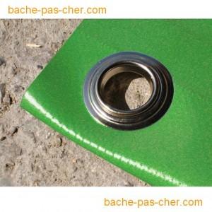 baches de protection 5 x 6 m verte