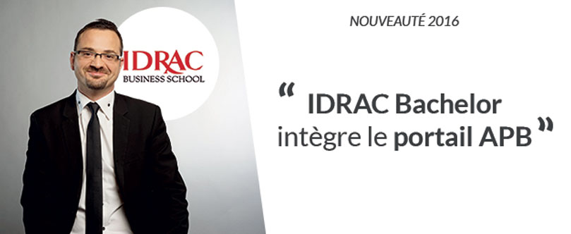 Admission Post Bac idrac