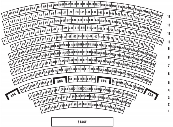 Ka Theater Mgm Seating Chart