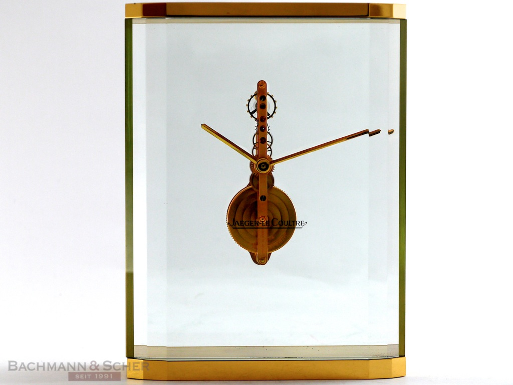 Luxhora Art Deco Table Clock With Built In Lamp By Lecoultre On Artnet