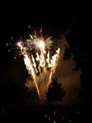 Feuerwerk in Gera