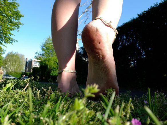 voeten onder