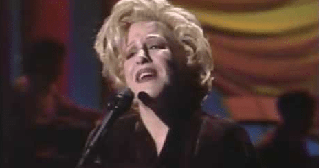 WATCH: Bette Midler Performs In My Life/Friends at the 1991 Benefit for the AIDS Project of Los Angeles - VIDEO
