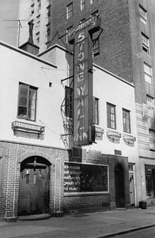 Stonewall Inn in 1969 by Diana Davies
