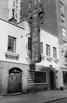 Stonewall Inn in 1969 by Diana Davies