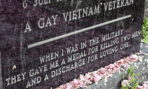 Veterans Day Tribute: Sgt. Leonard P. Matlovich America's 1st Out Gay Serviceman - 1975 Video Interview