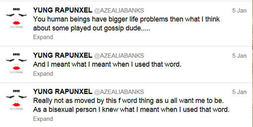 Azelia Banks Doubles Down
