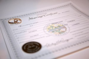 Nevada Marriage Certificate