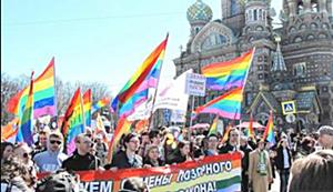 Gay Russia mayday