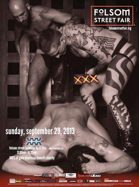Folsom Street Fair Poster 2013