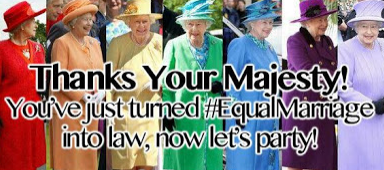 Her LGBT Highness
