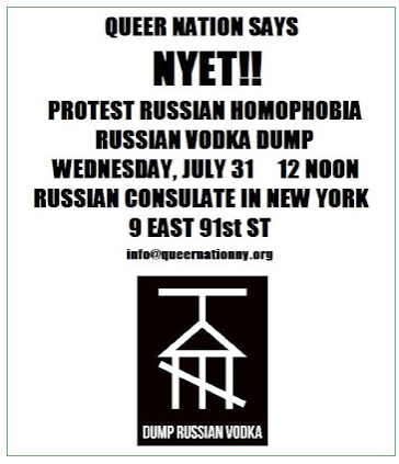 QUEER NATION RUSSIA BOYCOTT