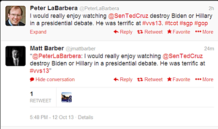 Tweet Barber LaBarbera
