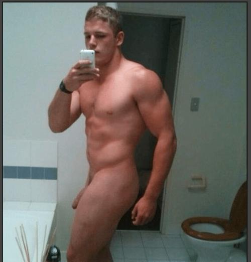 George Burgess nude