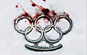 Sochi Olympics blood