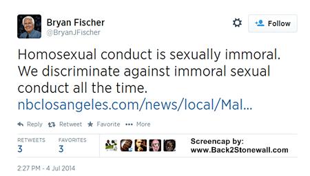 Bryan Fischer necrophilia