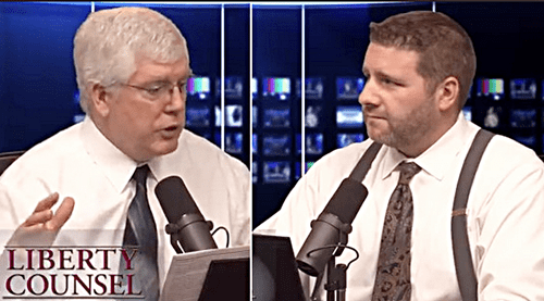 "Liberty Counsel's Mat Staver and Matt ""Bam-Bam"" Barber: ""Satantic Gay Marriage Will Bring Gods Wrath!"""