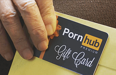 Pornhub Gift Card Commercial