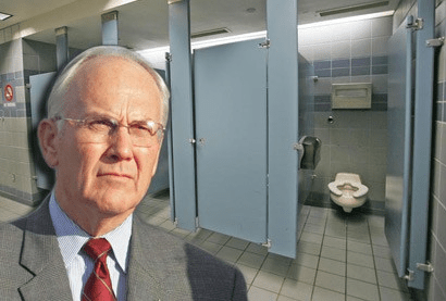 Larry Craig Memorial Bathroom
