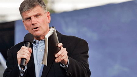 "Grifter Franklin Graham Tells Followers To Pray Against ""Perversion, Pluralism, Profanity, Pornography"""