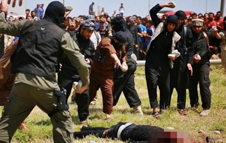 Islamic State (ISIS) Stones Gay Syrian Boy To Death
